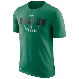 """Boston Celtics Nike Practise Short Sleeve T-Shirt – Clover – Mens"" All items"