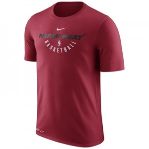 """""""Miami Heat Nike Practise Short Sleeve T-Shirt – Tough Red – Mens"""" All items"""
