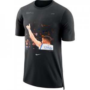 """Golden State Warriors Nike Stephen Curry Player Pack T-Shirt – Black -"" All items"