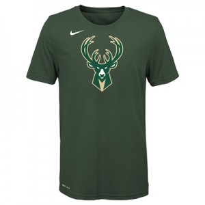 """Milwaukee Bucks Nike Logo T-Shirt –  – Youth"" All items"