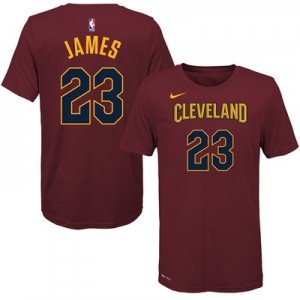 """Cleveland Cavaliers Nike LeBron James Icon Name & Number T-Shirt – You"" All items"