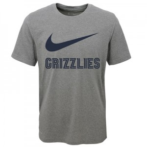 """Memphis Grizzlies Nike Swoosh T-Shirt – Dark Grey Heather – Youth"" All items"