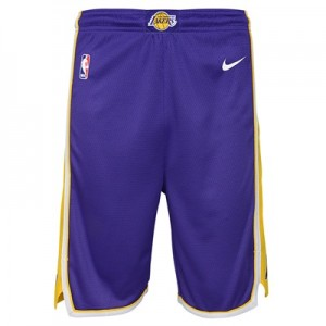 """Los Angeles Lakers Nike Statement Swingman Short – Youth"" All items"