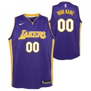 """Los Angeles Lakers Nike Statement Swingman Jersey – Custom – Youth"" All items"