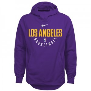 """Los Angeles Lakers Nike Elite Practise Fleece Hoodie – Field Purple – "" All items"