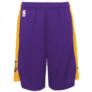 """""""Los Angeles Lakers Nike Practise Short – Field Purple/Amarillo – Youth"""" All items"""