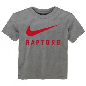 """Toronto Raptors Nike Swoosh T-Shirt – Dark Grey Heather – Toddler"" All items"