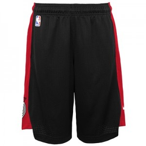 """Portland Trail Blazers Nike Practise Short – Black/University Red – Yo"" All items"