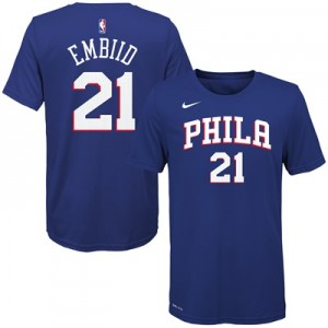"""Philadelphia 76ers Nike Joel Embiid Icon Name & Number T-Shirt – Youth"" All items"
