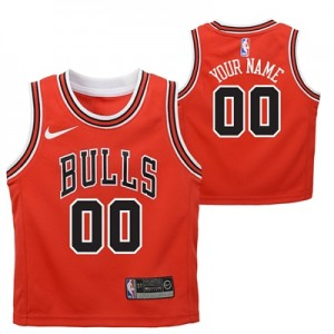"""""""Chicago Bulls Nike Icon Replica Jersey – Custom – Toddler"""" All items"""