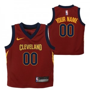 """""""Cleveland Cavaliers Nike Icon Replica Jersey – Custom – Infant"""" All items"""