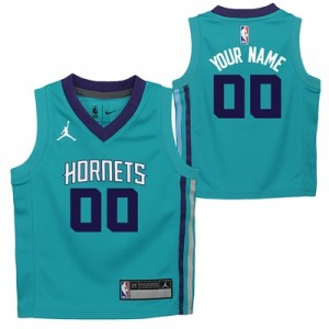 """Charlotte Hornets Air Jordan Icon Replica Jersey – Custom – Toddler"" All items"