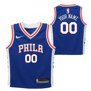 """Philadelphia 76ers Nike Icon Replica Jersey – Custom – Toddler"" All items"