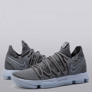 """Nike Nike Zoom KD10 Basketball Shoe – Dark Grey/Reflect Silver – Mens"" All items"