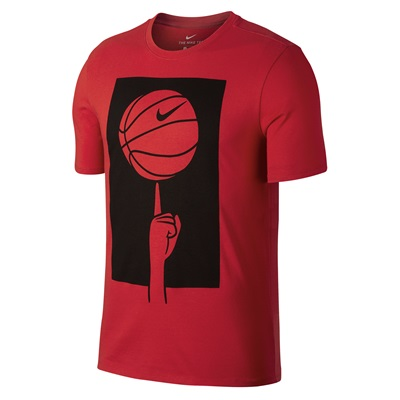 """Nike Spinning Ball T-Shirt – University Red – Mens"" All items"