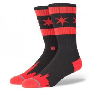 """""""NBA Stance Mens Squad Collection – Chicago Skyline DW Fashion Crew Soc"""" All items"""