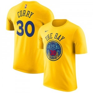 """Golden State Warriors Nike Stephen Curry City Name & Number T-Shirt – "" All items"