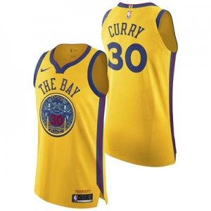 """Golden State Warriors Nike City Authentic Jersey – Stephen Curry – Men"" All items"