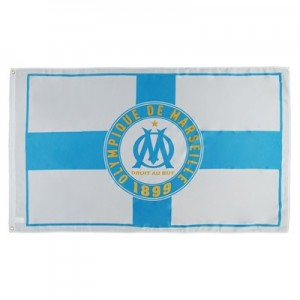 Olympique de Marseille Cross Flag All items