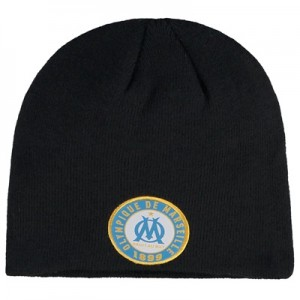 Olympique de Marseille Fan Beanie – Black – Adult Clothing