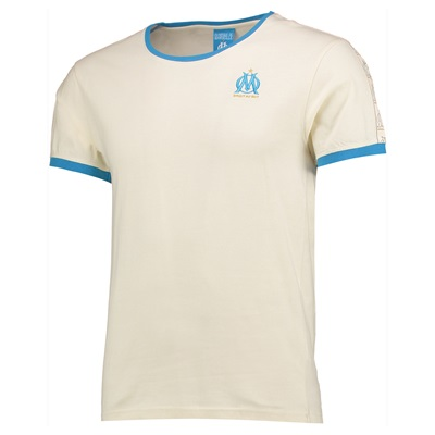 Olympique de Marseille Lifestyle T-Shirt – Off White – Mens Clothing