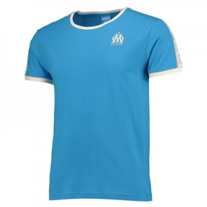 Olympique de Marseille Lifestyle T-Shirt – Blue – Mens Clothing