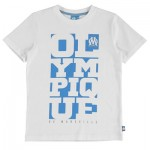 Olympique de Marseille Graphic T-Shirt – White – Boys Clothing