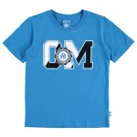 Olympique de Marseille Collegiate T-Shirt – Blue – Boys Clothing
