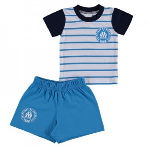 Olympique de Marseille T-Shirt and Short Set – Blue/White – Baby Clothing