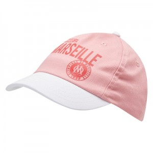 Olympique de Marseille Made In Marseille Cap – Pink – Baby Girls Clothing