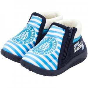 Olympique de Marseille Boot Slippers – Blue – Baby Clothing