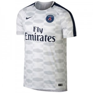 Paris Saint-Germain Squad Pre Match Top – White All items