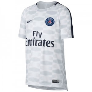 Paris Saint-Germain Squad Pre Match Top – White – Kids All items
