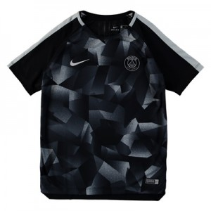 Paris Saint-Germain Squad Pre Match Top – Black – Kids All items