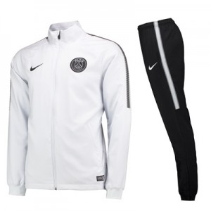 Paris Saint-Germain Squad Woven Tracksuit – White All items