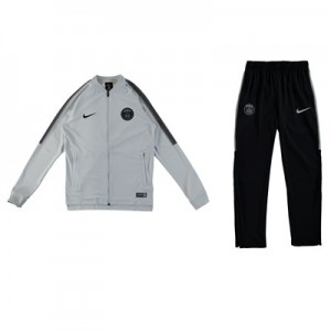 Paris Saint-Germain Squad Knit Tracksuit – White – Kids All items