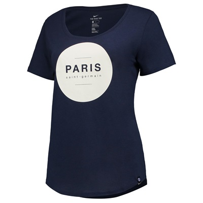 Paris Saint-Germain Squad T-Shirt – Navy – Womens All items