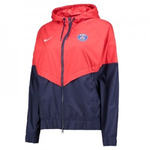 Paris Saint-Germain Authentic Windrunner – Red – Womens All items