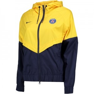 Paris Saint-Germain Authentic Windrunner – Yellow – Womens All items