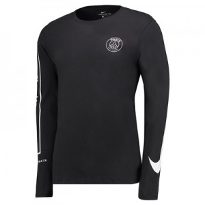 Paris Saint-Germain Squad Long Sleeve T-Shirt – Black All items