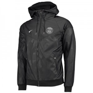 Paris Saint-Germain Authentic Windrunner – Black All items