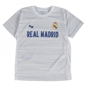 Real Madrid Polyester Training T-Shirt – White – Junior All items
