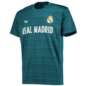 Real Madrid Polyester Training T-Shirt – Green – Mens All items