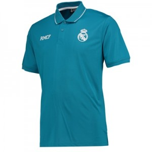 Real Madrid Polyester Training Polo Shirt – Green – Mens All items