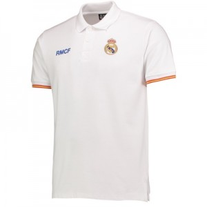 Real Madrid Crest Polo Shirt – White – Mens All items