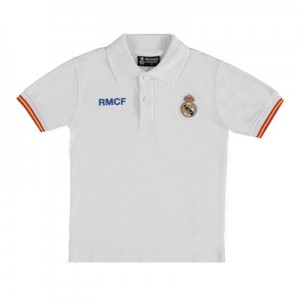 Real Madrid Crest Polo Shirt – White – Junior All items