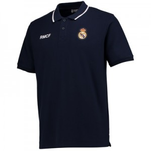 Real Madrid Crest Polo Shirt – Navy – Mens All items