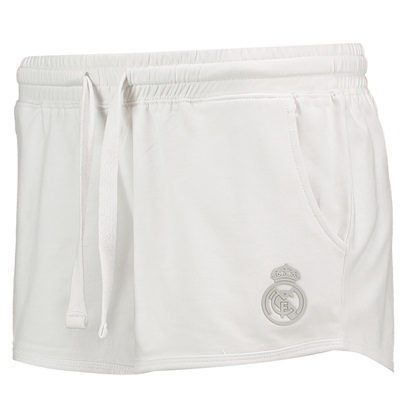 Real Madrid Fleece Shorts – White – Womens All items