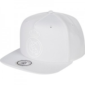 Real Madrid Snapback Cap – White – Adult All items