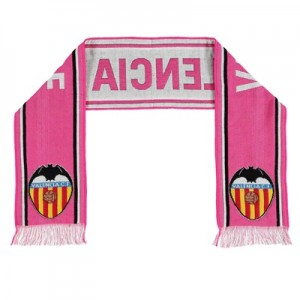 Valencia CF Core Crest Fan Scarf – Pink – Adult All items